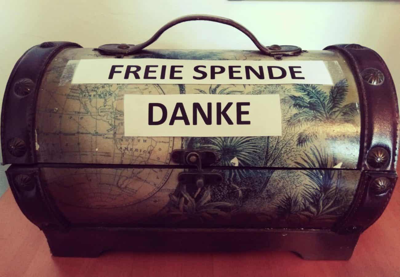Freie Spende – Grenzenlos