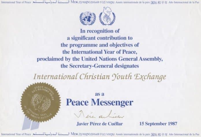 ICYE Peace Messenger