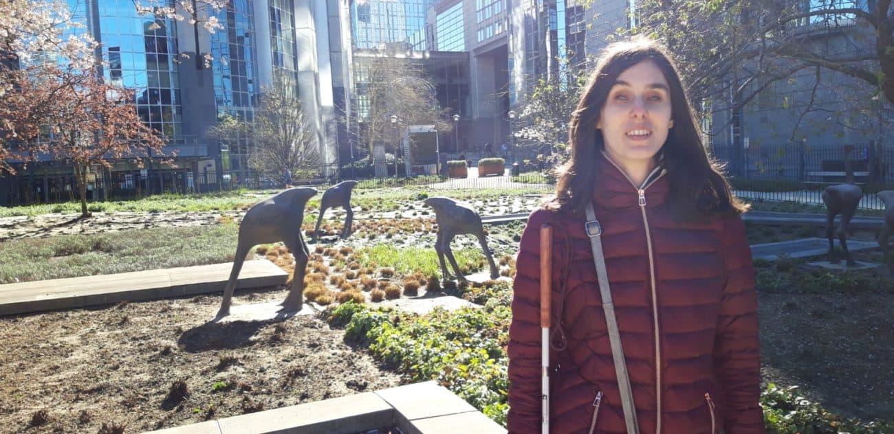Lisa in Brussels
